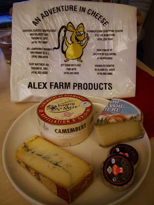 Alex Farm's fromages