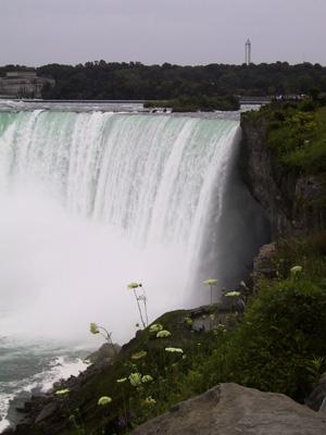 Toujours le haut des chutes du Niagara