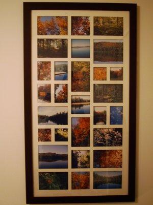 Cadre photos de l'Algonquin