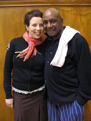 Mandy Gould et Chazz Young