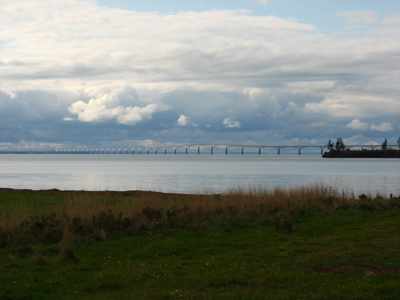 Enfin, le pont de la Confédération!