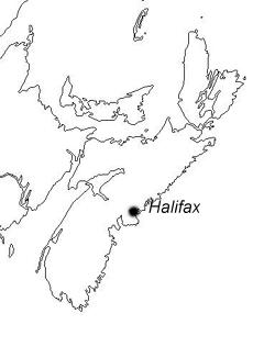 Carte: Où est Halifax ?