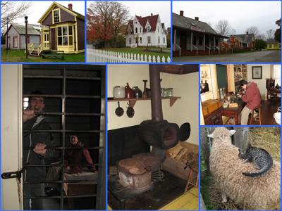 Vues de Sherbrooke Village