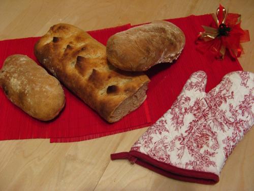 Ciabatta et pain extraordinaire
