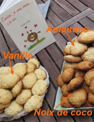 Cookies et livre de recettes